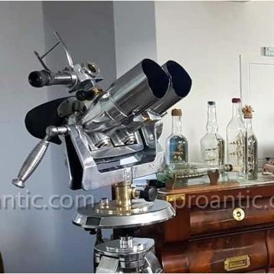 Binoculars Marine Polished Observation 10 X 80 Tzk
