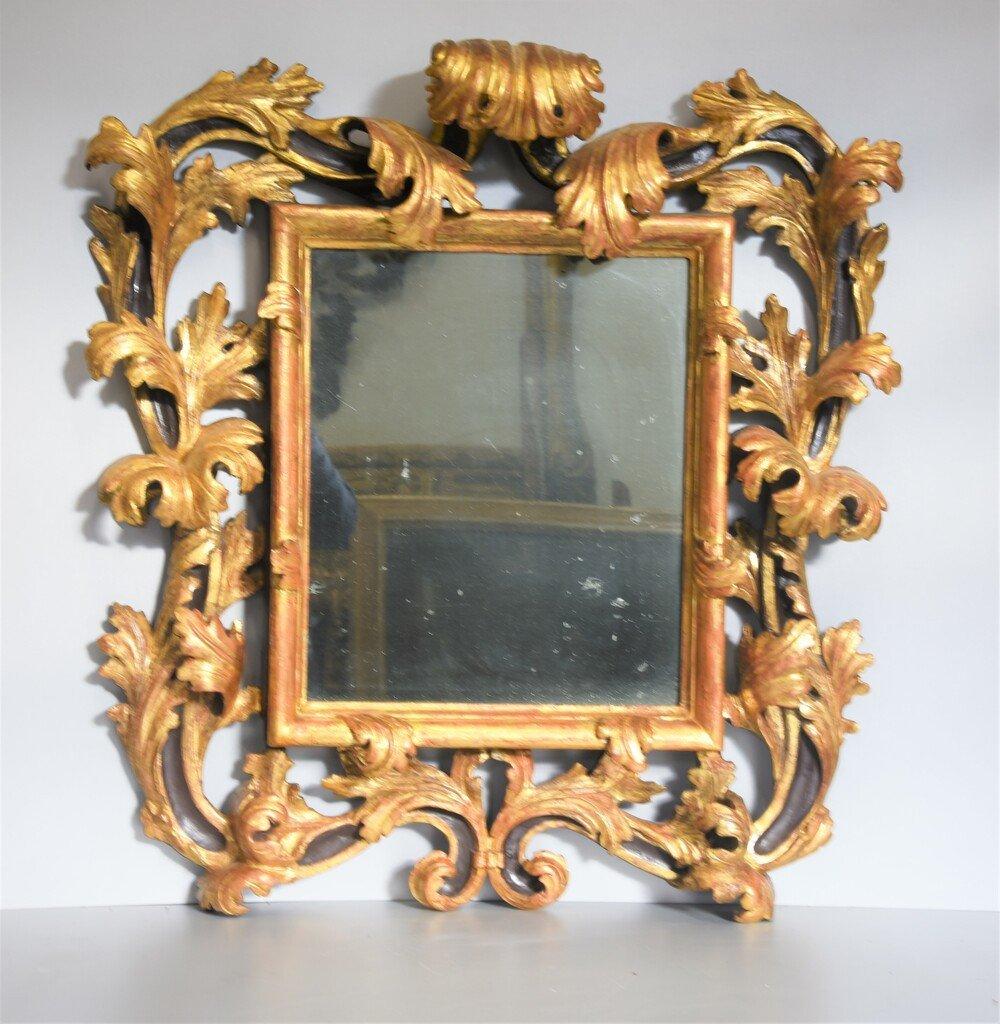 Cadre Brustolon Du XVIIe Siècle - Venise