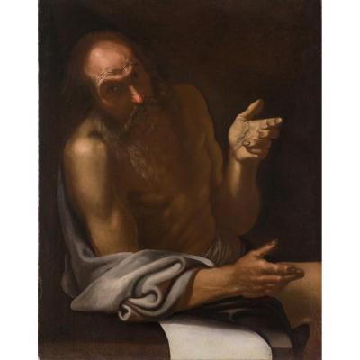 Peinture Ancienne De 1600