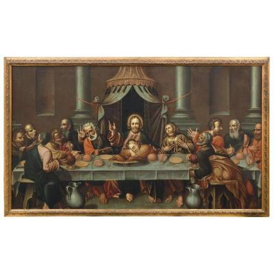 Ancient Painting Of The Venetian School Of The Seventeenth Century