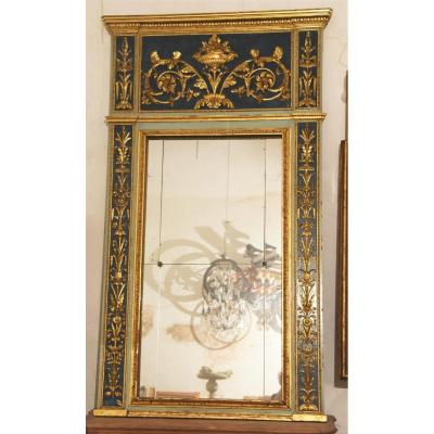 Mirror Genoves Old Luigi XVI From The Eighteenth Century