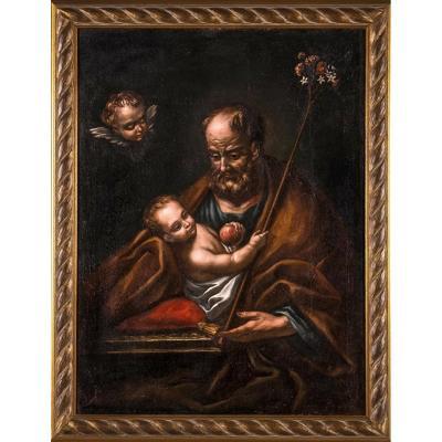 Old Painting, Italian School Of The Eighteenth Century