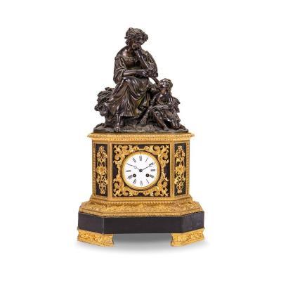 Old Clock, France 19th Century