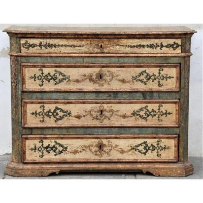 Old Italy Drawer End Of The 17th Century