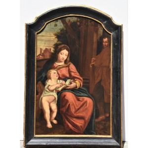 Old Painting From The French School Of The 17th Century