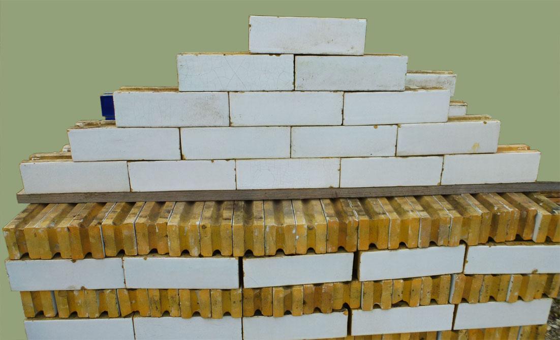 Ancient Faïencées Bricks