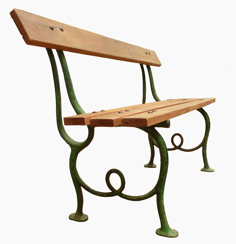 Cast Iron Bench Child Model