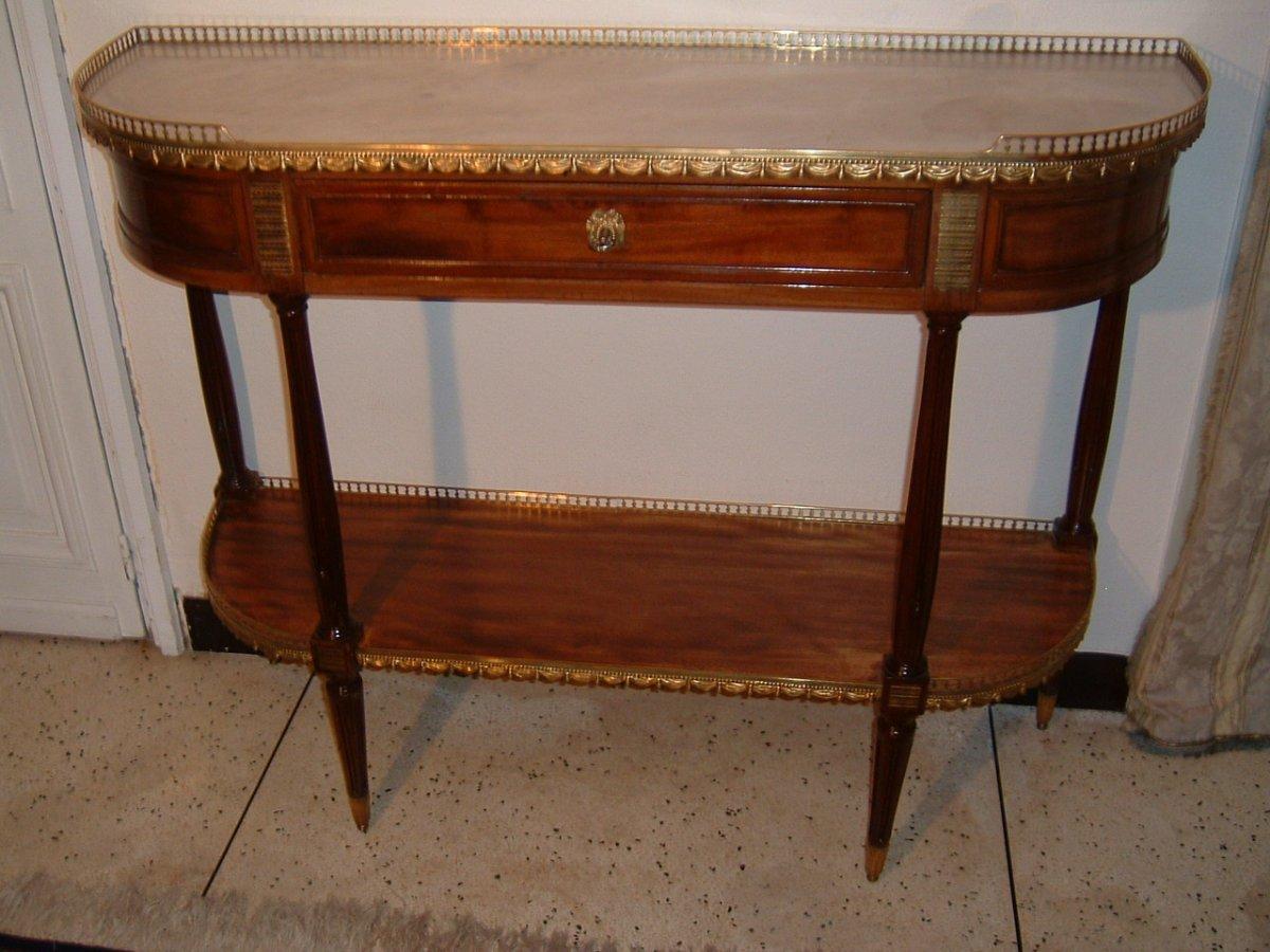 Console époque Louis XVI