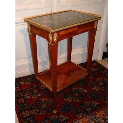 Table De Salon époque Fin XVIIIème Siècle