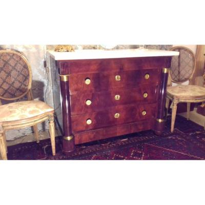 Commode Acajou Epoque Empire