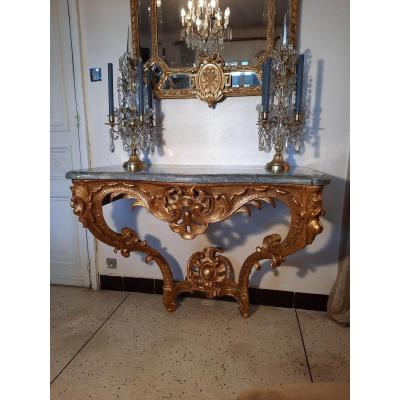 Console époque Louis XV