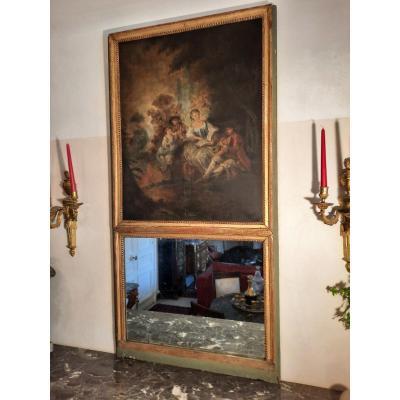 Trumeau Style Louis XVI époque Fin XVIIIème Siècle