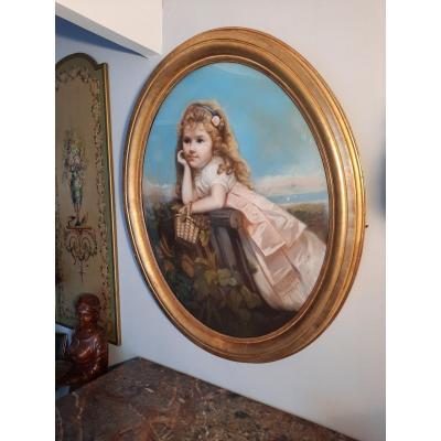Pastel 'au Panier Girl