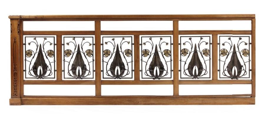 Balustrade Art Nouveau De Louis Majorelle