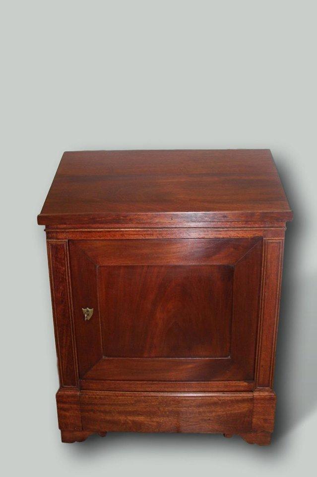 Lectern Furniture Louis Philippe Debut Nineteenth Mahogany