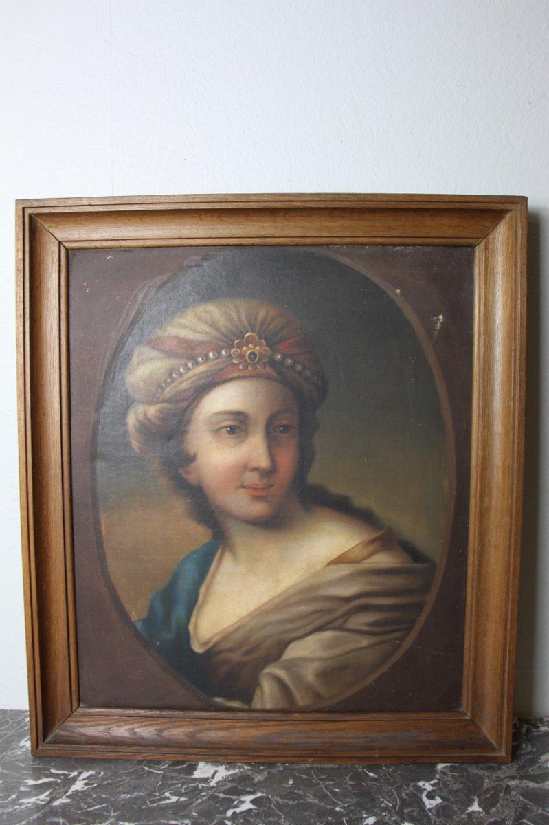 Portrait d'Une Ottomane XIXeme