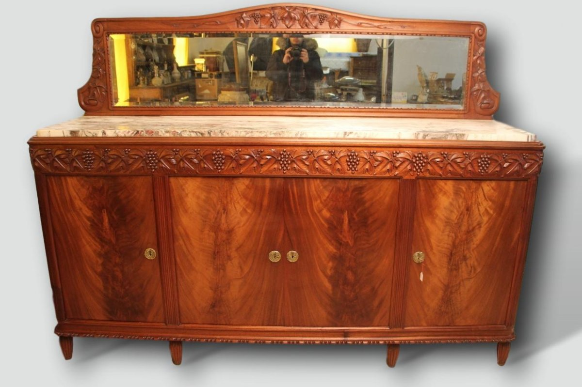 Art Deco Sideboard With Vines By Gauthier Poinsignon