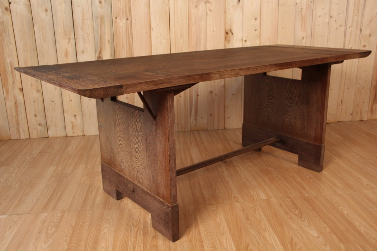 1950s Palm Tree Dining Table