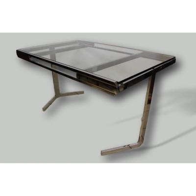 Nickel Plated Salon Table 70