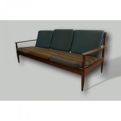 Large Scandinavian Teak Sofa