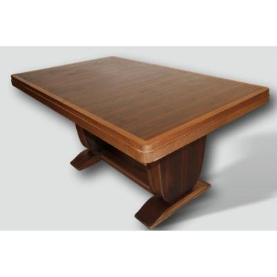 Art Deco Table In Macassar Ebony