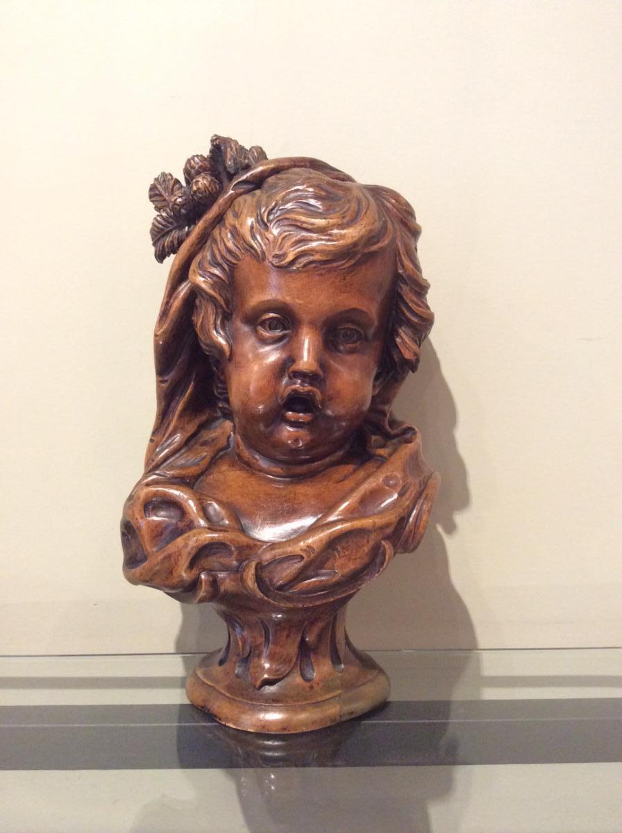 Buste d'Un Jeune Enfant