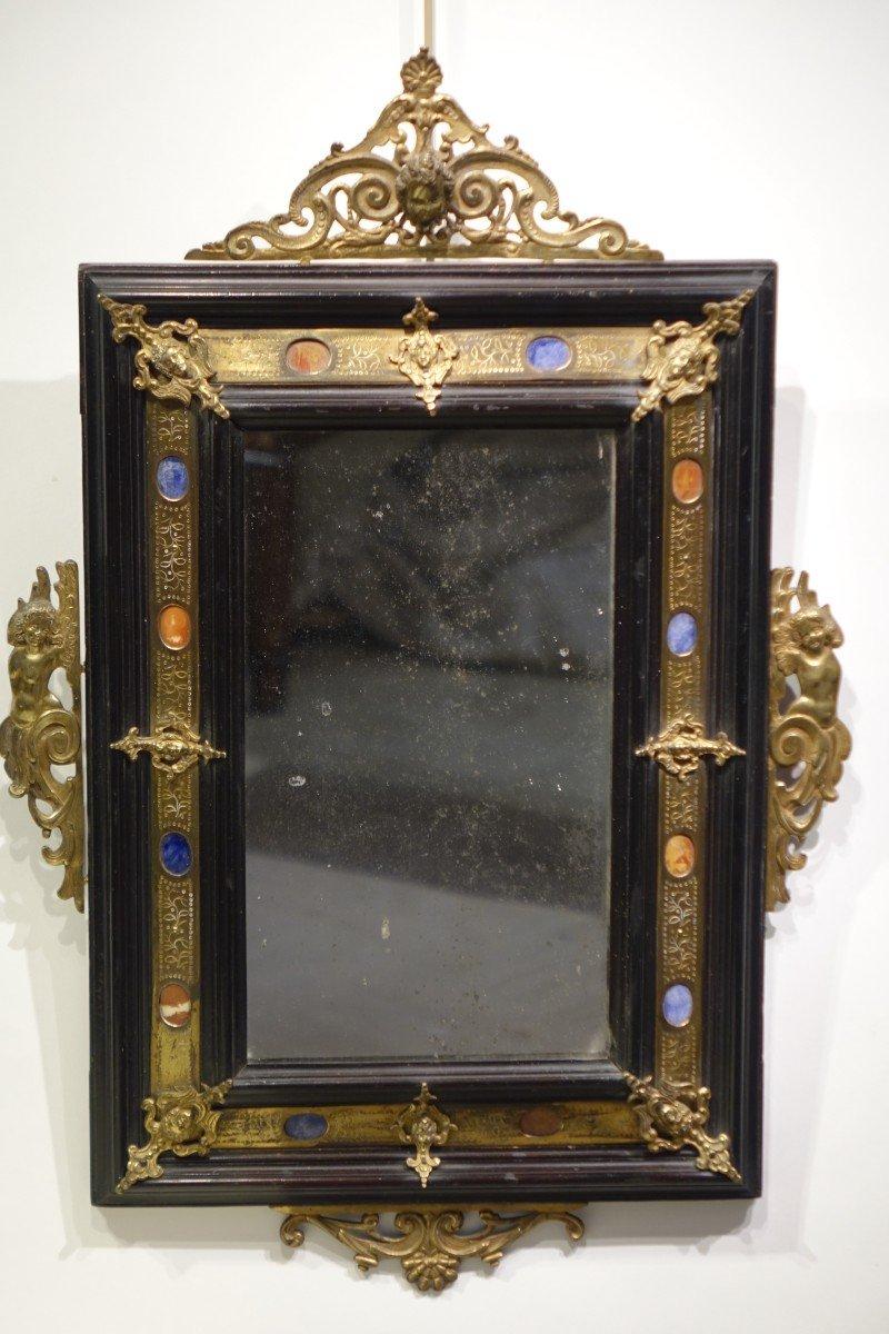 Miroir De Style Renaissance, Florence, 19e S.