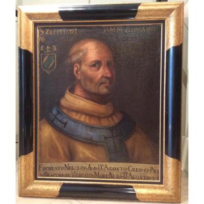 Portrait d'Un Homme d'Eglise