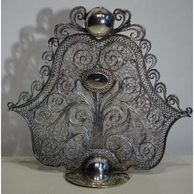Fibule Ou élément De Vêtement En Filigrane ,egypte Ou Empire Ottoman,19e S.
