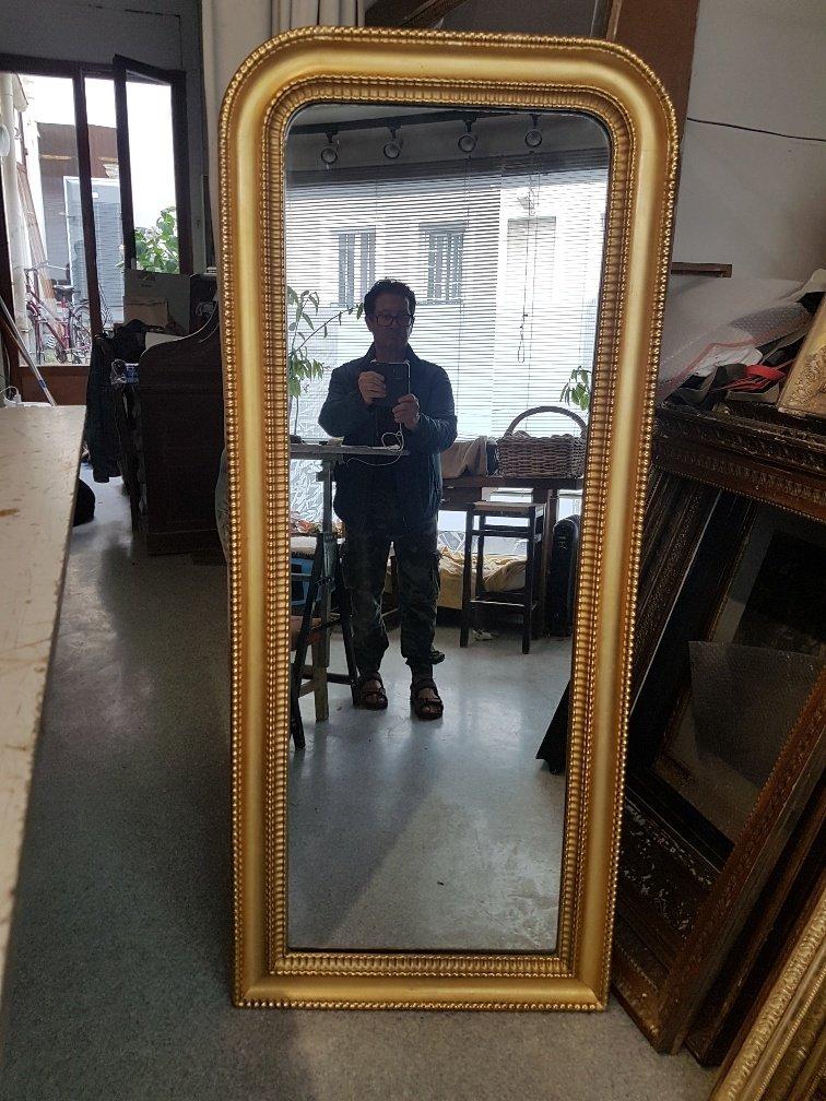 Golden Mirror Louis-philippe Period