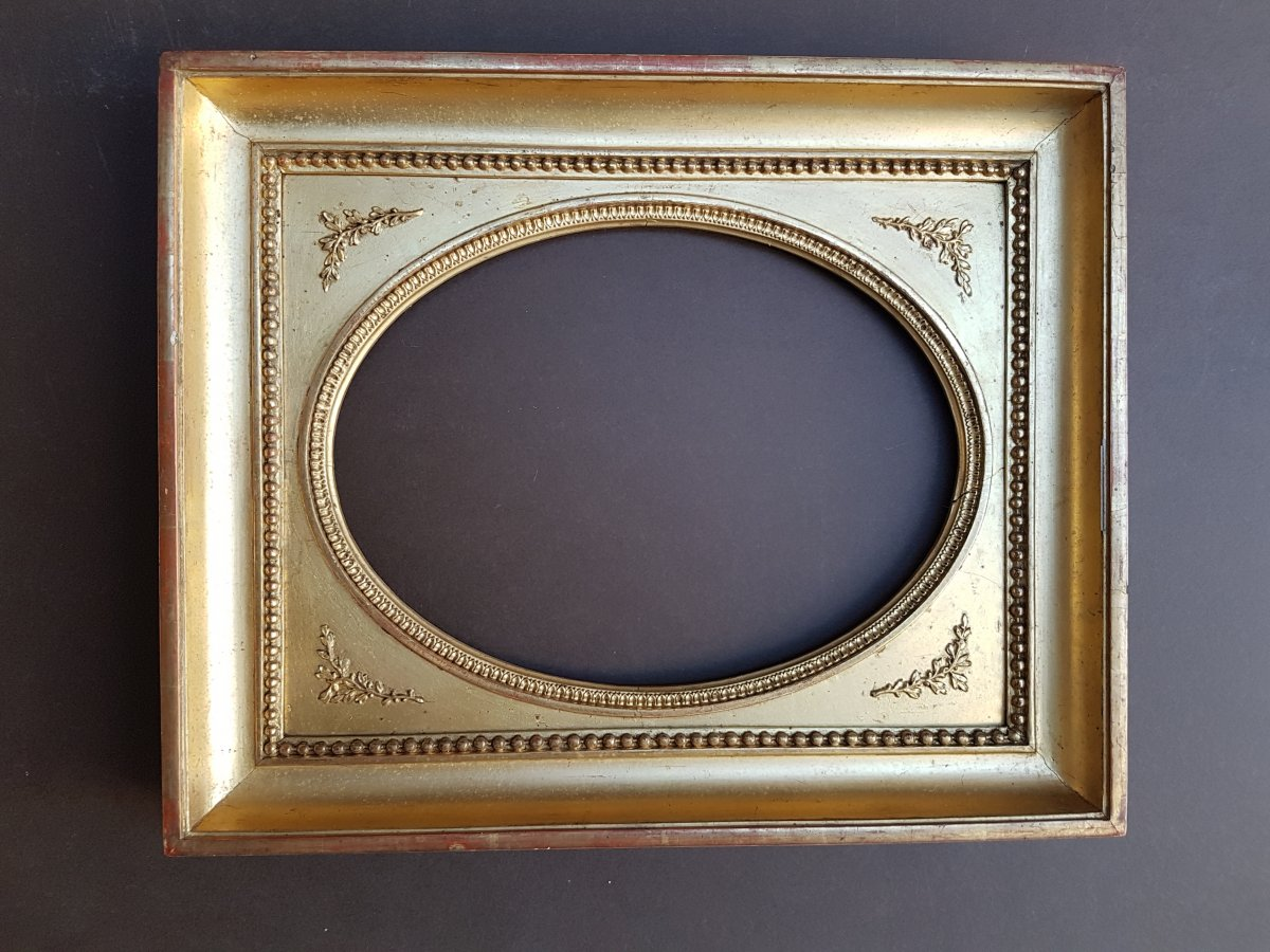 Golden Oval Frame Restoration Period