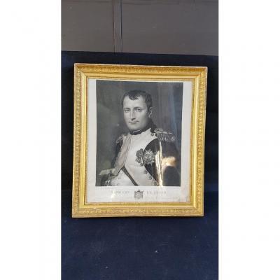 Napoléon 1er Dans Son Cabinet De Travail Aux Tuileries Par David