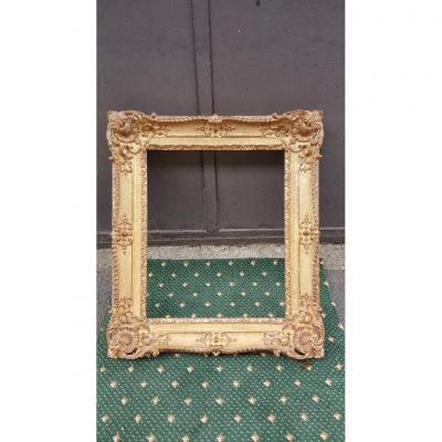 Louis XV Style Golden Frame