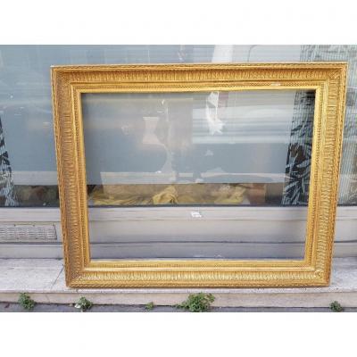 Large Golden Frame Louis XVI Style Said