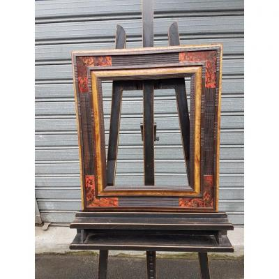 Dutch Style Marquetry Frame