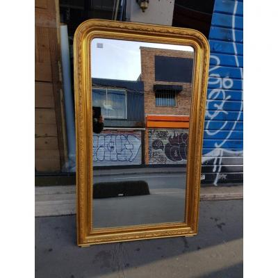 Louis Philippe Style Golden Mirror