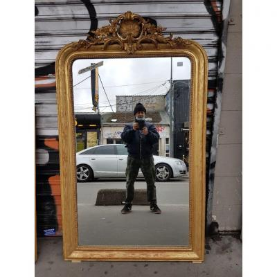 Gilded Louis-philippe Mirror