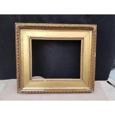 19th Century Gilded Frame From Napoleon III Period