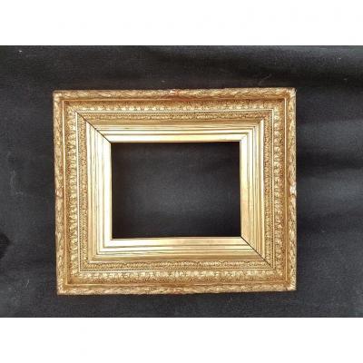 "19th Century Golden Frame Called ""barbizon"""