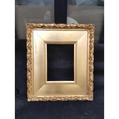 Golden Frame Around 1880 For A Graphic Work