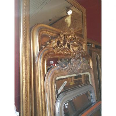 Important Lot De Miroirs louis-philippe pour particuliers ou marchands