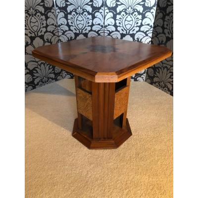 Art Deco Pedestal Table.