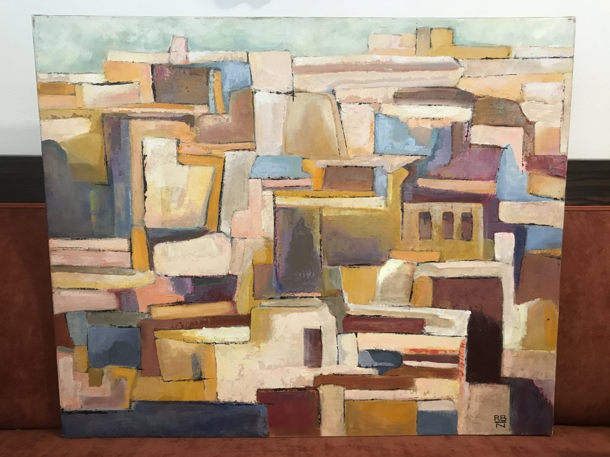 Noon On The Casbah / Painting XX Eme