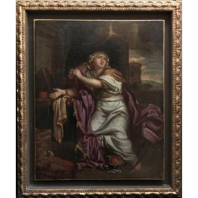 Peinture  française XVIII Eme