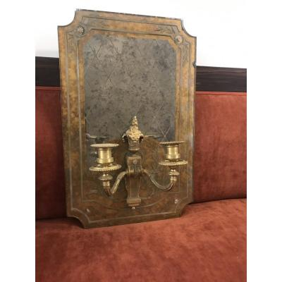 Venitian Mirror Carrying 2 Torches