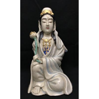 Statuette de Guanym/ divinité Asie Est