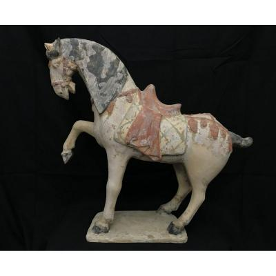 Large Terracotta Horse - Qing Period