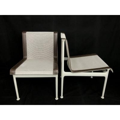 Pair Of Chairs 1966 By Richard Schultz For Florence Knoll