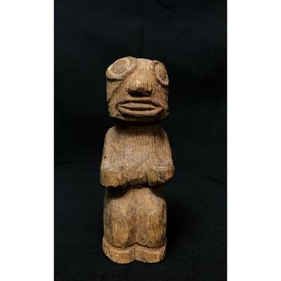 Statuette Tiki Art Océanien Îles Marquises