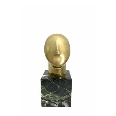 "Sculpture En Bronze "" Idole"""